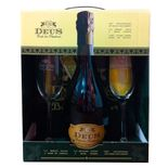Kit-presenteavel-cerveja-Deus-750ml--2-tacas