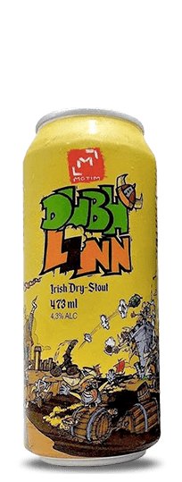 O Motim Dubhlinn Irish Dry Stout Lata 473ml