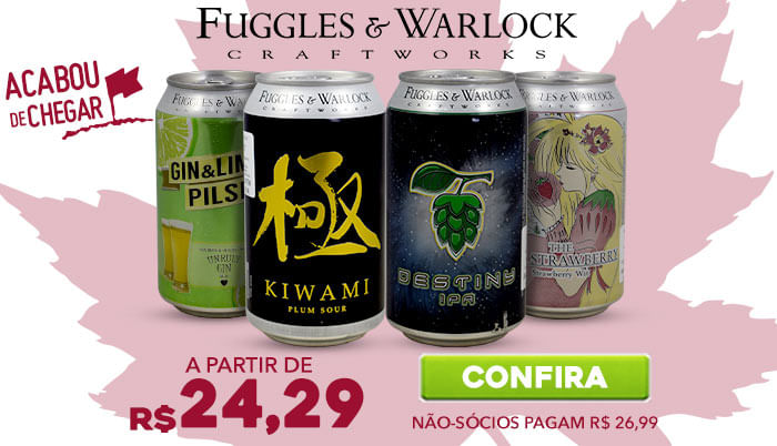 Fuggles & Warlock, do Canadá para a The Beer Planet!