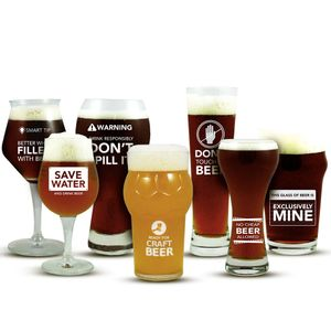 Kit-Copos-Colecao-Warning-The-Beer-Planet-Club---7-unidades