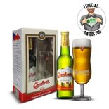 Kit-Presenteavel-Cerveja-Czechvar-500ml---Copo-Exclusivo-Rep.Tcheca