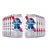 Pack-12-Cervejas-Pabst-Blue-Ribbon-American-Lager-Lata-350ml